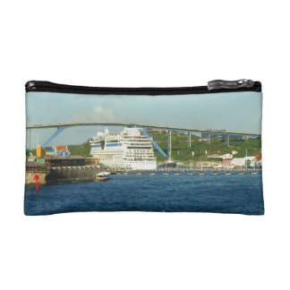 Luna Stern in Curacao Small Cosmetic Bag