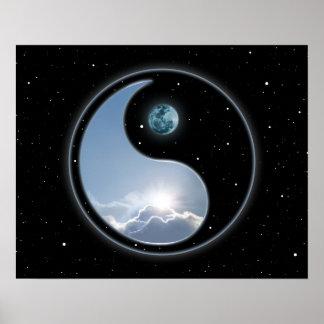 Luna Sun de Yin Yang Posters