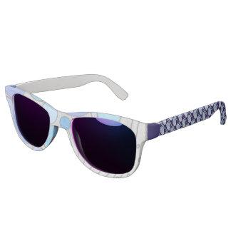 Luna The Full Moon Blue And Purple Space Geek Sunglasses