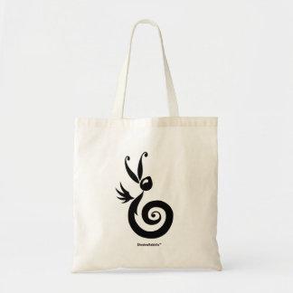 Luna the Shadow Rabbit Tote Bag
