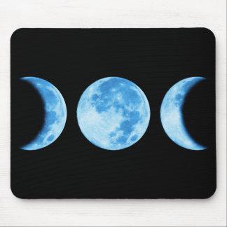Luna trifásica Mousepad Alfombrilla De Raton