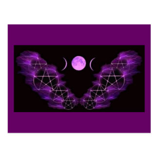 Luna triple postales