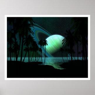 Luna tropical de Thetis Poster