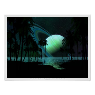 Luna tropical de Thetis Póster
