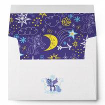Luna with Crown Envelope