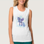Luna with Crown Flowy Muscle Tank Top