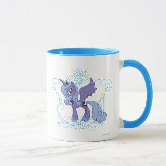Luna with Crown Mug