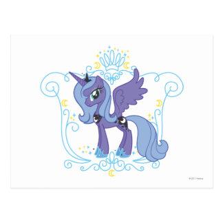 Luna with Crown Postcard