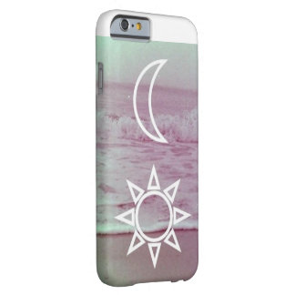 Luna y caso de Barely There del iPhone 6 del Funda Para iPhone 6 Barely There