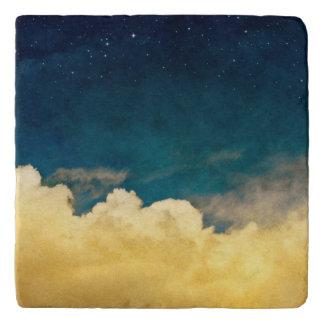 Luna y Cloudscape Salvamanteles