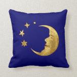 Luna y estrellas cojines
