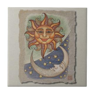 Luna y estrellas de Sun Tejas Cerámicas