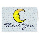 Luna y estrellas felicitaciones