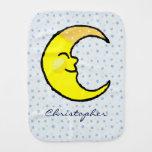 Luna y estrellas paños de bebé
