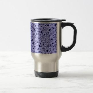 luna y estrellas tazas de café
