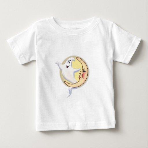 LUNA y FANTASMA CRECIENTES de SHARON SHARPE Camisetas
