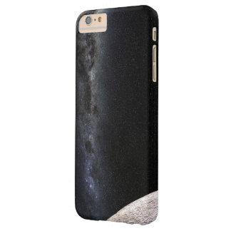 Luna y galaxia funda de iPhone 6 plus barely there