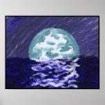 Luna y mar poster