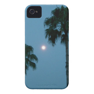 Luna y palmas Case-Mate iPhone 4 cobertura