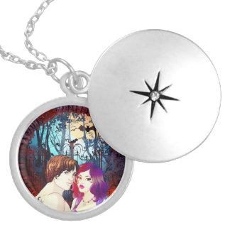 Lunadar: Sarah & Ryan Silver Plated Necklace