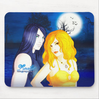 Lunadar: Selina & Damien Mouse Pad