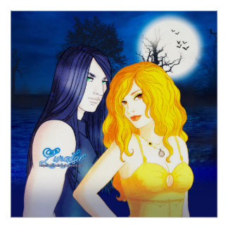 Lunadar: Selina & Damien Poster