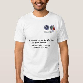 LUNAR - 40.a camisa del aniversario de Apolo 11