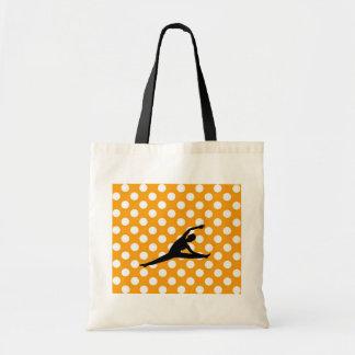 Lunar anaranjado bolsa de mano