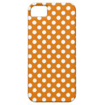 Lunar anaranjado iPhone 5 carcasas