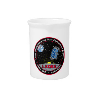 Lunar Atmosphere & Dust Environment Explorer LADEE Beverage Pitcher
