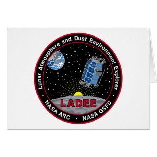Lunar Atmosphere & Dust Environment Explorer LADEE Card