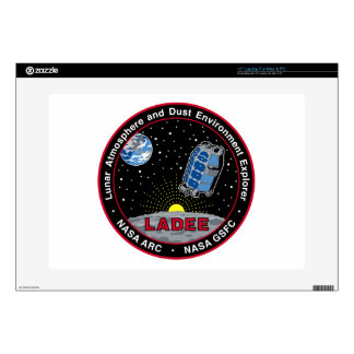 """Lunar Atmosphere & Dust Environment Explorer LADEE Decals For 15"""" Laptops"""