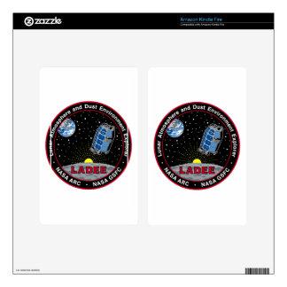 Lunar Atmosphere & Dust Environment Explorer LADEE Kindle Fire Skins