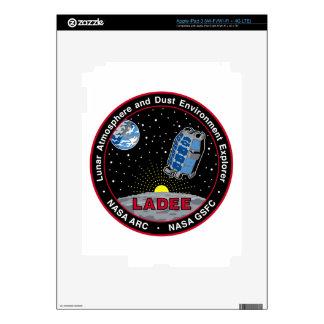 Lunar Atmosphere & Dust Environment Explorer LADEE Skins For iPad 3