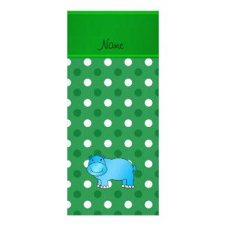 Lunar azul conocido personalizado del blanco del tarjetas publicitarias personalizadas