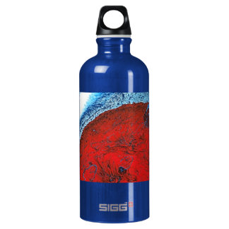 LUNAR BEACH ALUMINUM WATER BOTTLE