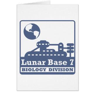 Lunar Biology Division Card