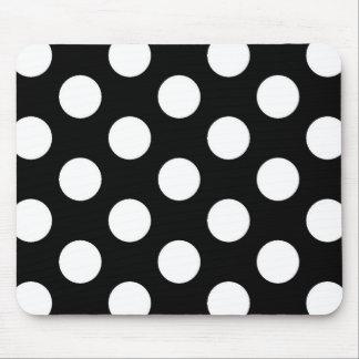 Lunar blanco negro - Mousepad Tapetes De Ratones