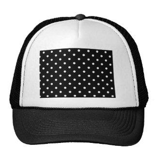 Lunar blanco y negro gorras