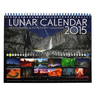 Lunar Calendar 2015 Astronomy Wall Calendar B
