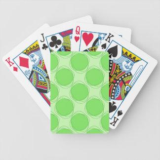 Lunar colorido garabateado modelo inconsútil baraja cartas de poker