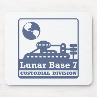Lunar Custodial Division Mouse Pad