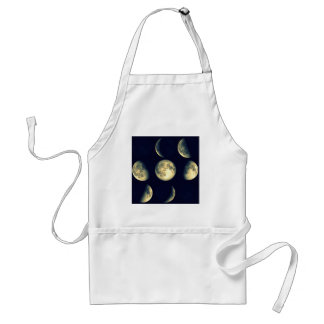 Lunar Cycles ~ The Moon Adult Apron