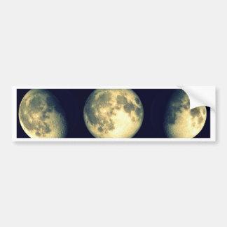 Lunar Cycles ~ The Moon Bumper Sticker
