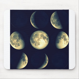 Lunar Cycles ~ The Moon Mouse Pad