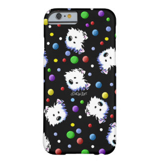 Lunar de KiniArt Westie Funda Para iPhone 6 Barely There