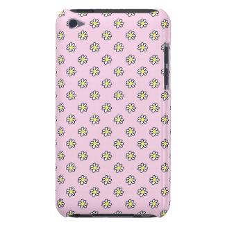 Lunar de la margarita en un fondo rosado iPod touch Case-Mate coberturas