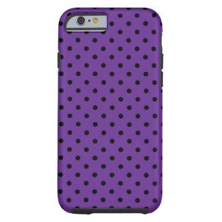 lunar de la púrpura de Shell del caso del iPhone 6 Funda De iPhone 6 Tough