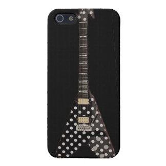 Lunar de Randy Rhoads que vuela la guitarra de V iPhone 5 Fundas