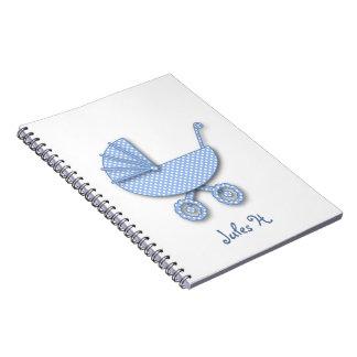 lunar del bebé note book